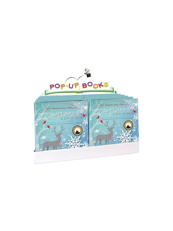 SNOWFLAKES 10PC BOOK PREPACK