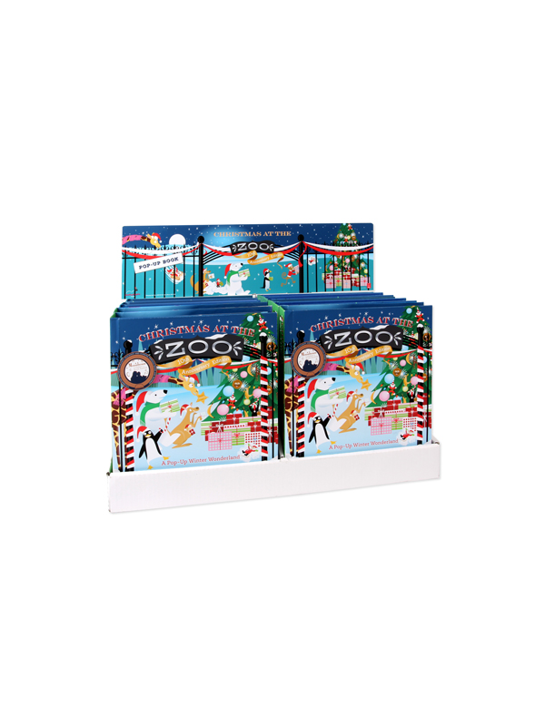 CHRISTMAS AT THE ZOO 10PC BOOK PREPACK